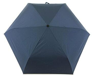 小宮商店 強い雨でも効果は持続 65cmミニ 耐久撥水素材キューダス生地 耐風骨使用 大判 (紺)