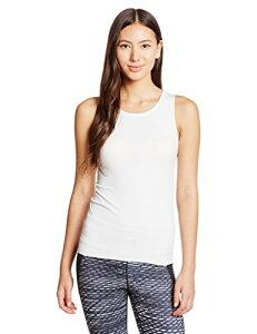 (ダンスキン)DANSKIN フィットネス Skinish タンクトップ DA16301 [レディース] DA16301 JW ジャスミンホワイト L