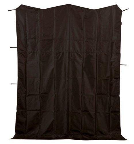キャプテンスタッグ グランド タープ サイドパネル ブラック4.5m M-5944