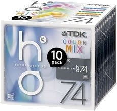 オーディオ用アクセサリー, その他 TDK MD74 10 MD-HO74MAX10N