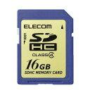 ELECOM SDHCカード class4 16GB MF-FSDH16G