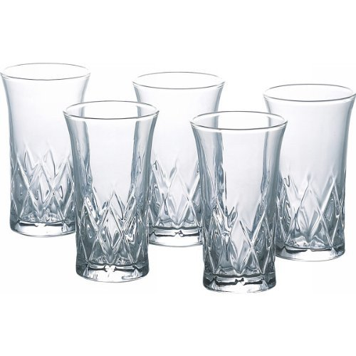 東洋佐々木ガラス 矢来 一口ビールグラス 5個セット MZB-05120-5N