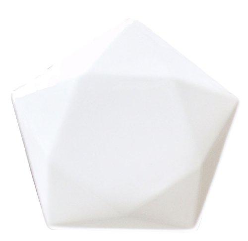小田陶器 ファイ 17プレート 白 P20701