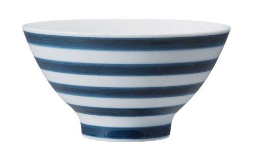 西海陶器 essence ボーダー ライスボール(DB) 45386