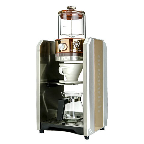 【ユニークはoceanrich日本販売代理店です】 oceanrich PRO 自動ドリップ・コーヒーメーカー【訳あり品】パッケージ傷ありですが、中身は新品です。