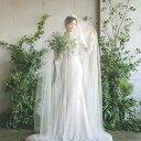 ブライダルベール 愛のロマンス 春の唄 ロングベール マリアベール 女神 フランス設計……