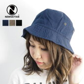 NEWHATTANニューハッタンS-WASHBUCKETHAT3colors(NHN1500)SS17ZNOIMAGE