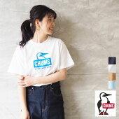 CHUMSチャムスTシャツゆったり大きめBoobyFaceT-shirtCH01-1834プリントTシャツロゴT白黒ベージュロゴプリントアウトドアキャンプキャンプ女子キャンジョアメカジおしゃれママコーデユニセックスレディースメンズメール便可
