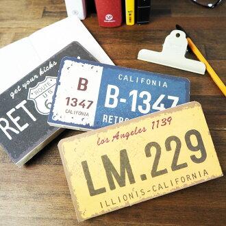 歐洲聯盟STATIONERY牌照筆記本LG-5835筆記本素色筆記本可愛的自由帳本方眼筆記本格筆記本記事本文具靜止notebook筆記本途徑66 ROUTE66糖果舵筆記本玩笑可愛