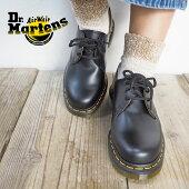 Dr.MartensドクターマーチンDR.M-1461Z3EYE3ホールシューズ10085001ポストマンシューズレディース正規品定番靴シューズレザーブーツ革靴革黒ブラックおしゃれ大人
