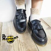 Dr.MartensドクターマーチンADRIANSLIPONタッセルローファー14573001靴シューズローファーエイドリアン革靴レザーシューズマーチン本革キルトタッセルスリッポンブラックレディース正規品