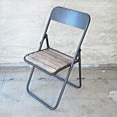 YAMAMOTOヤマモトチェアメタルウッドフォールディングチェアEE540YNH18LL椅子イスインポートアウトドアギア用品キャンプ女子キャンジョ折りたたみ一人用ミリタリーキャンパーアウトドアチェアおしゃれシンプル