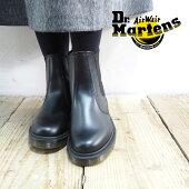 Dr.MartensドクターマーチンブーツレディースCHELSEABOOT10297001チェルシーブーツサイドゴアブーツサイドゴア秋冬靴マーチンおしゃれシンプルモードブランド黒ブラック