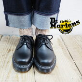 Dr.MartensドクターマーチンDR.M-1461ZWHITESTI24757001シューズブーツレディースステッチ3ホールマーチンシンプルおしゃれ大人黒ブラック白ホワイトメンズ