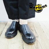 Dr.MartensドクターマーチンスリッポンレディースLOUIS24941001ブーツシューズ靴マーチンおしゃれブランドモードシンプル大人黒ブラック