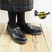 Dr.MartensドクターマーチンローファーレディースADRIANSNAFFLE25024001靴シューズ革靴本革レザーシューズレザーマーチンシンプルレトロモダンおしゃれ大人エイドリンスナッフルブラック黒