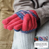 ROBERTMACKIEロバートマッキーフェアアイル柄ニットグローブGL574手袋レディースフェアアイル柄ニットグローブ手ぶくろてぶくろ女性用knitウール100%ウール手ぶくろ