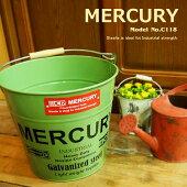 MercuryマーキュリーバケツC118SS13ZAバケツ大バケツレトロワイルドアウトドアインテリアポップカラフル雑貨ゴミ箱小物入れアメカジアメリカン