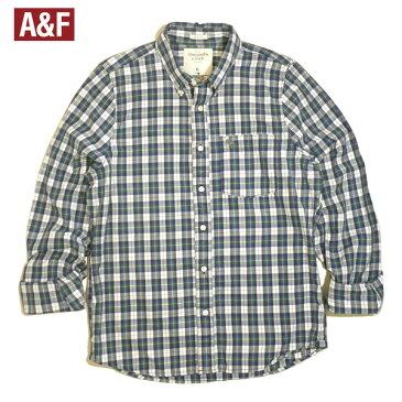 Abercrombie&Fitchシャツアバクロチェックシャツボタンダウンシャツアバクロンビー&フィッチシャツ長袖メンズ [Mens]大きいサイズXLビッグサイズあり02P20Dec13【RCP】【あす楽対応】