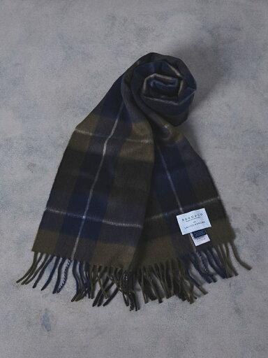 Wool Angora Scarf 1336-499-3533: Olive