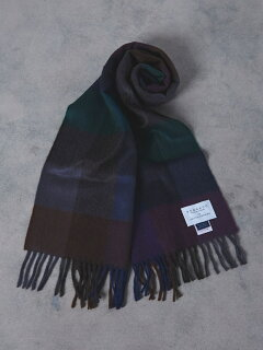 Wool Angora Scarf 1336-499-3533: Purple