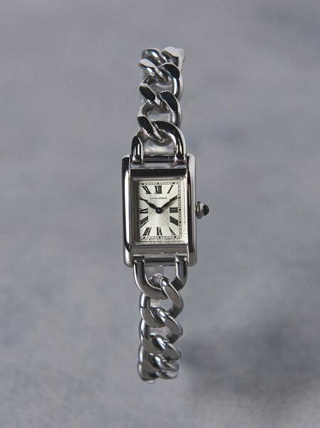 UBCBスクエアメタルチェーン腕時計†UNITEDARROWSユナイテッドアローズファッショングッズ腕時計ゴールドシルバー 先行