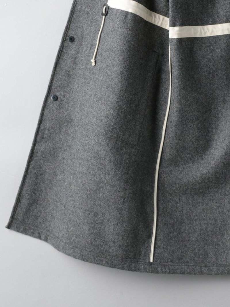 [Rakuten Fashion]<TUBE(チューブ)>フランネルコート UNITED ARROWS ユナイテッドアローズ カットソー Tシャツ グレー【送料無料】