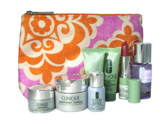 Clinique ( CLINIQUE) porch with miniature 7 piece set