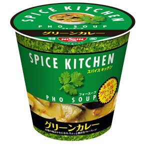 本格スパイスがクセになる味日清食品スパイスキッチングリーンカレー フォースープ12個セット