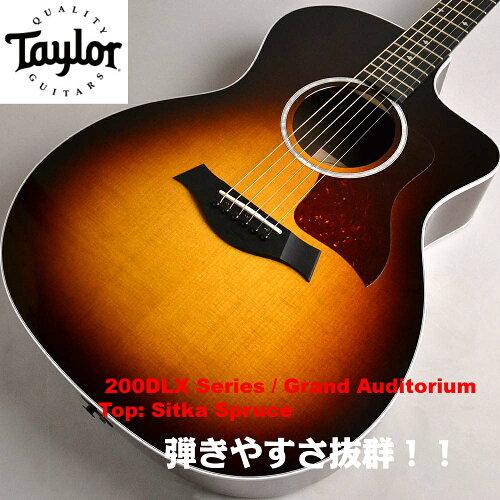 Taylor  214ce CF dlx テイラーギター 楽器 ESシステム