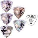 【5種各3枚 計15枚セット】ESP×バンドリ!Roselia×RAISE A SUILEN合同ライブ「Rausch und/and Craziness」記念 Roselia ギター ピック セット