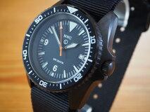 MWCミリタリーウォッチカンパニー腕時計/300m・1000ftミリタリーダイバーズPVD自動巻/セイコーH35Aオートマチック/Kampfschwimmer/ハック、スリップ機能/24mmNATOストラップ