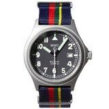 MWC時計/G10BHバッテリーハッチ/クォーツRonda705/715/50m/英国海軍NATOストラップ他計2本付き