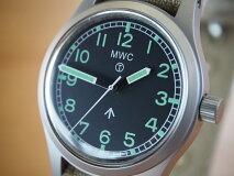 MWC時計/W101940-60s英国陸軍モデル/自動巻き/セイコーNH35A/ブロードアロー/スーパールミノバ