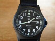MWC時計/G10LMPVDブラック35mm/クォーツ/50m・165ft防水/スクリューケースバック/ガラス風防/ブラックPVDNATOSTRAP/スーパールミノバ夜光/ヨーロピアンスタンダードダイアル/欧州モデル