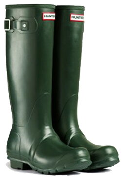 <特別価格!>HUNTER【ハンター】WOMENS ORIGINAL TALL DARK OLIVEオリジナルトール・ダークオリーブレインブーツ ラバーブーツ 長靴