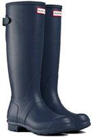 <特別価格!>HUNTER【ハンター】ORIGINALBACKADJUSTABLEオリジナルバックアジャスタブル・ネイビーレインブーツラバーブーツ長靴