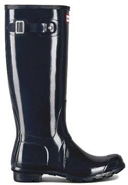 <特別価格!>HUNTER【ハンター】ORIGINAL TALL GLOSS NAVYオリジナルトールグロスネイビーレインブーツ ラバーブーツ 長靴