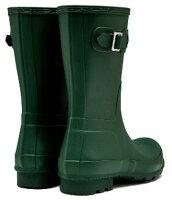<特別価格!>HUNTER【ハンター】MENSORIGINALSHORTDUSTYPETROLオリジナルショート・ハンターグリーンレインブーツラバーブーツ長靴