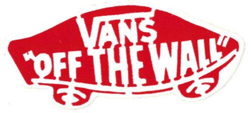 【メール便対応】 デッドストック VANS OFF THE WALL STICKER RED入荷!