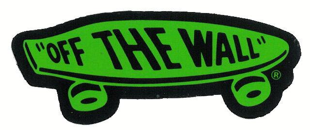 【メール便対応】 GREEN OFF THE WALL STICKER!