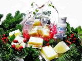 ☆クリスマス限定お試しセット☆ローズ石鹸、化粧水(石鹸6種+化粧水50ml付)Xmasプレゼントにも!お一人様20セットまで