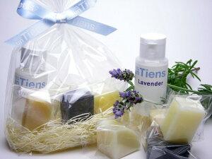 アンティアンの製品たちを実感していただくのに最適な、人気手作り石鹸ばかり5種+化粧水が入っ...