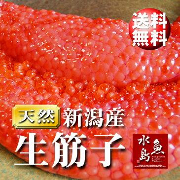 【送料無料】新潟産 生筋子(生いくら)季節限定「ずっしり大粒 生すじこ」 3kg