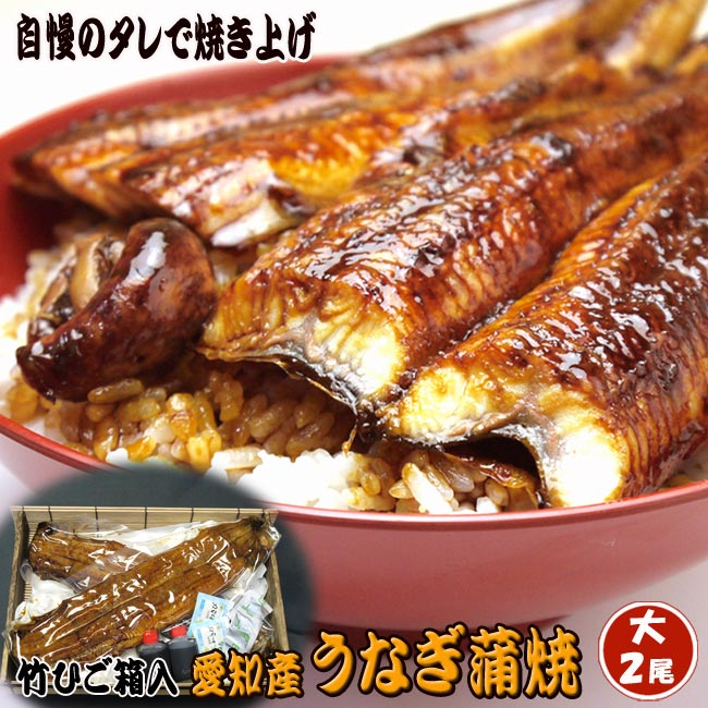 魚佐太『うなぎ蒲焼き大2尾』