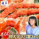 【キャッシュレス決済5倍】 ボイル タラバ 蟹 特大 3kg...
