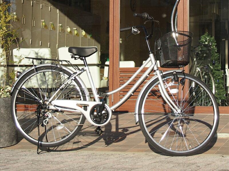 自転車・サイクリング, シティサイクル Lupinus 266-UD 100 26 6