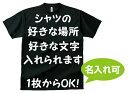 オーダーメイド ドライTシャツ オリジナル 名入れ Tシャツチームシャツ 【名入れ可能】