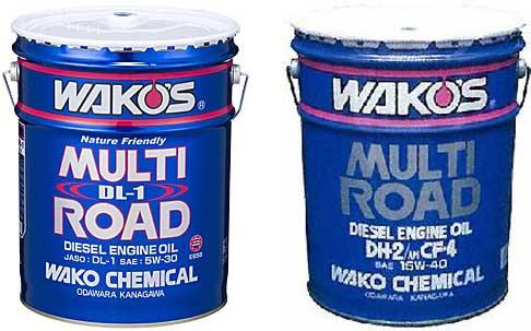WAKO'S(ワコーズ) MR-DL1 マルチロードDL−1 20Lペール缶 5W-30 100%化学合成油 エンジン...