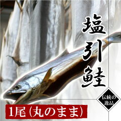 村上名産 塩引鮭〔塩引き鮭〕(生時4.7kg)【丸のまま】